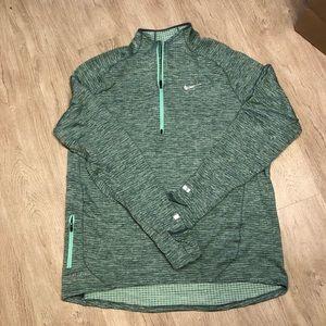 Nike Men's Spear Element Half Sleeve  Running Top
